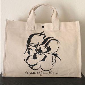 Elizabeth and James tote bag